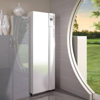 Air source heat pump / residential / high-temperature / inverter